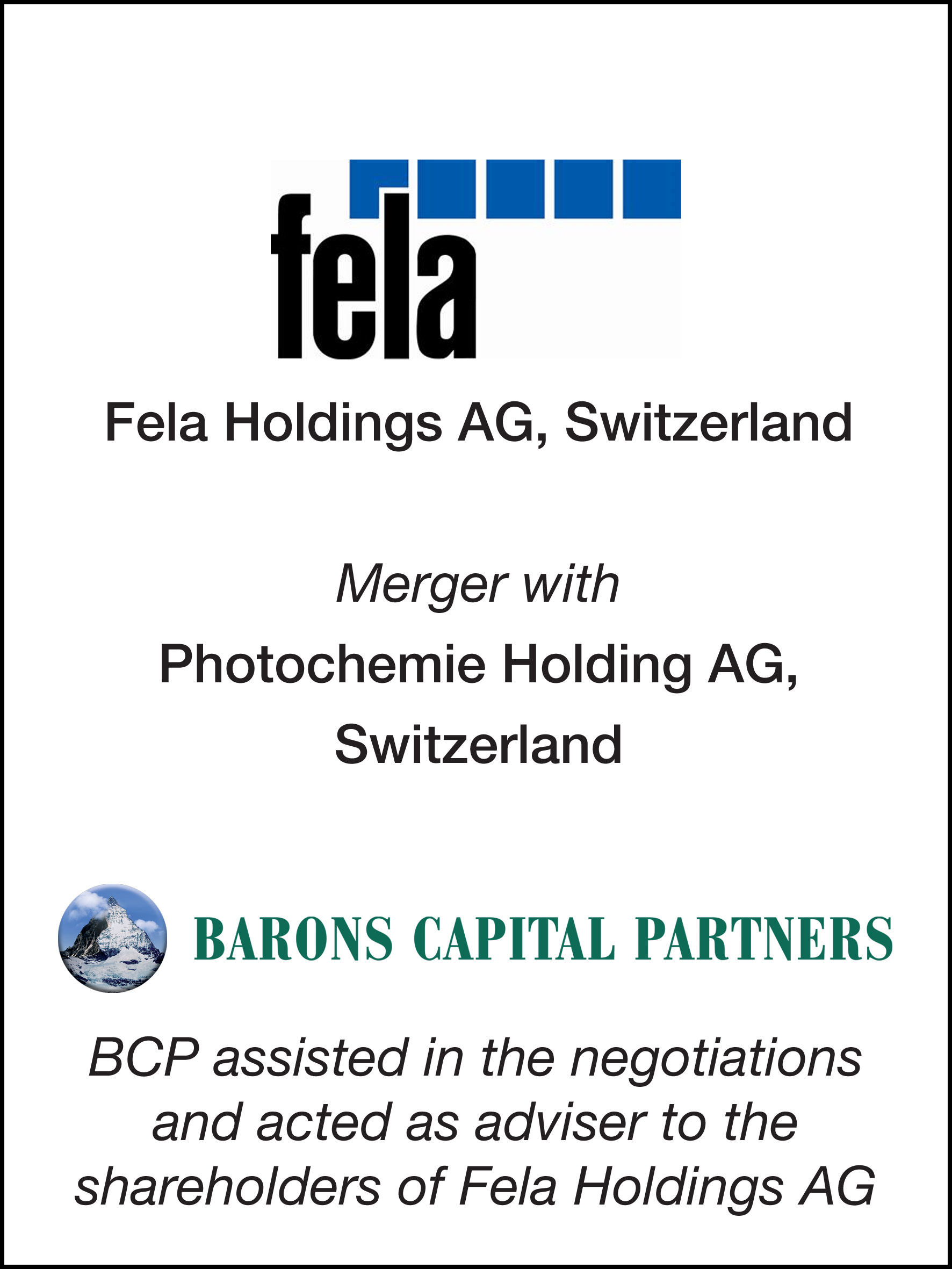 19_Fela Holdings AG