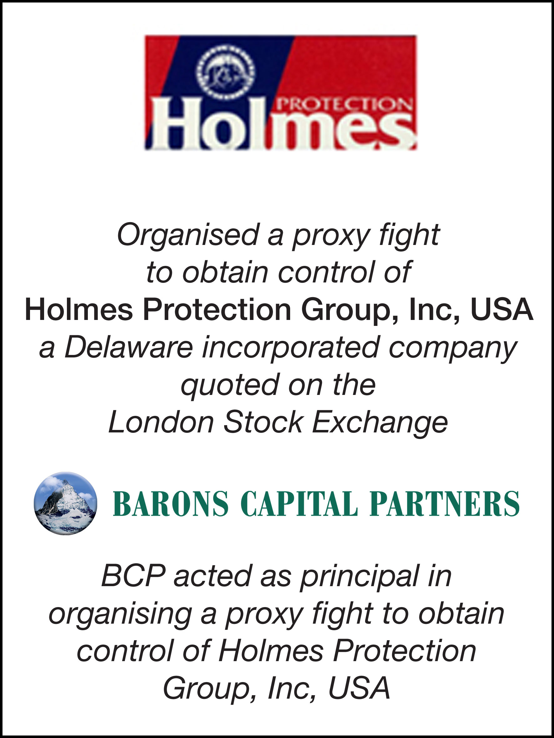 28_Holmes Protection Group Inc