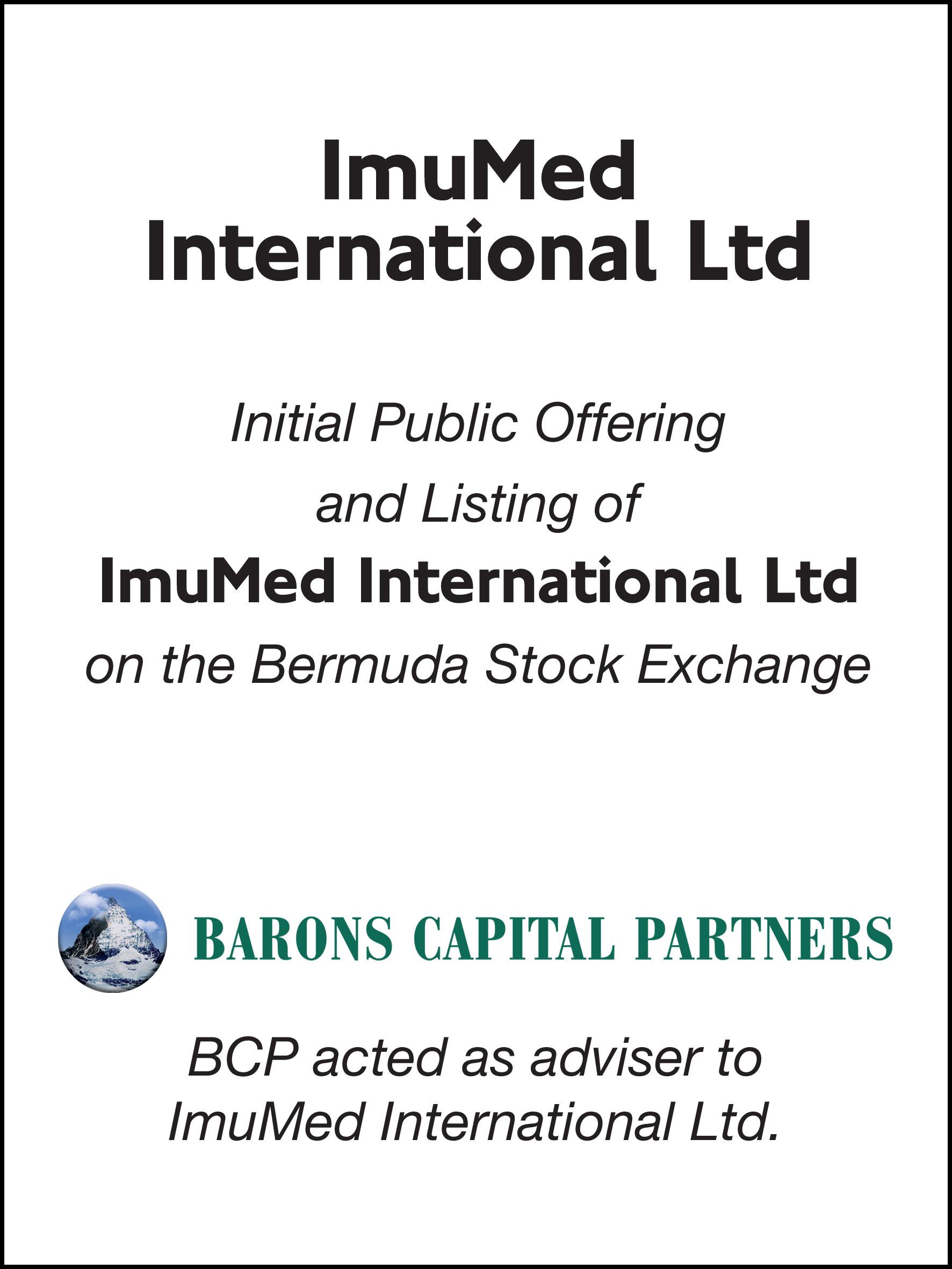 41_ImuMed International Ltd