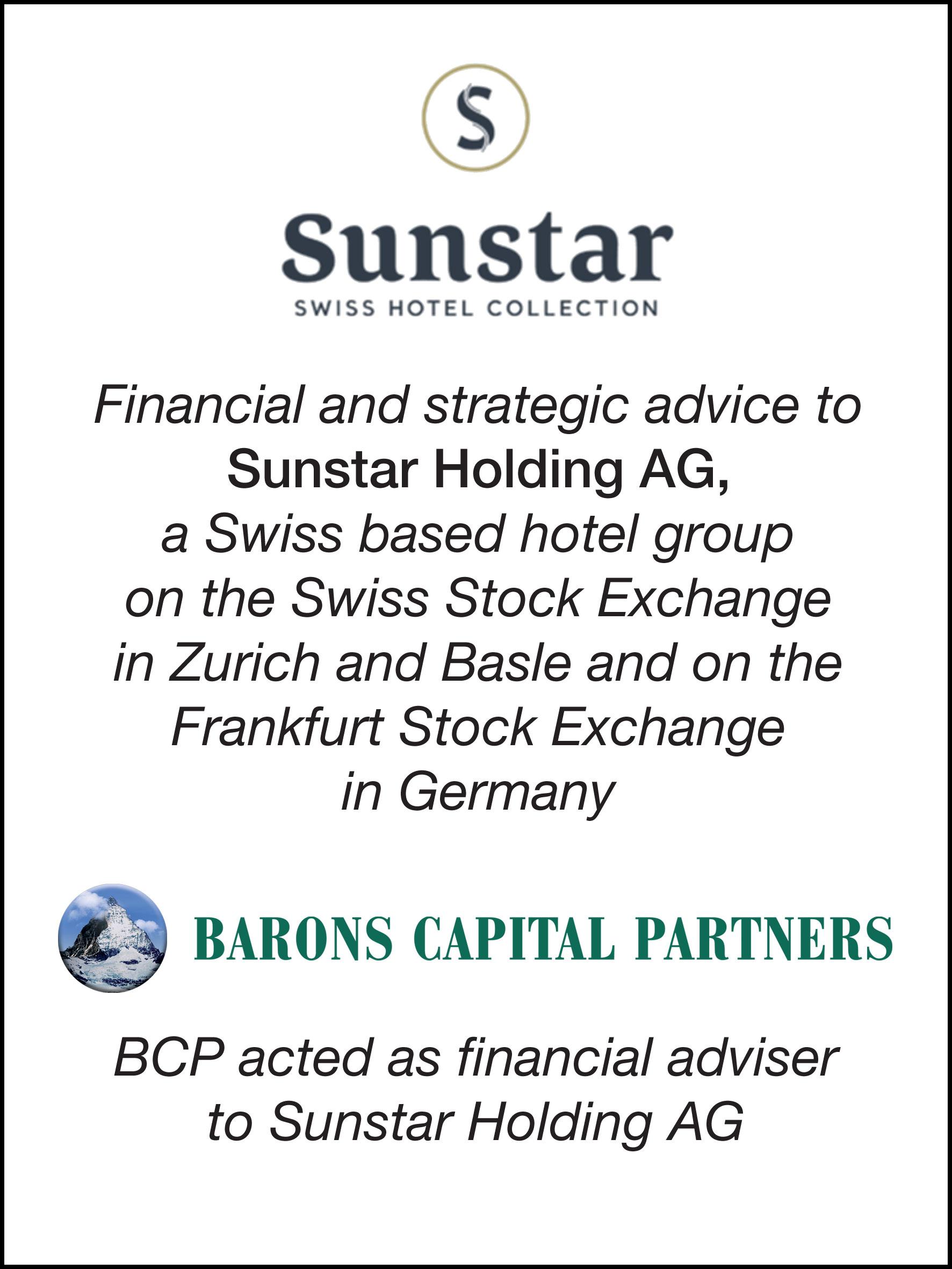 49_Sunstar Holding AG