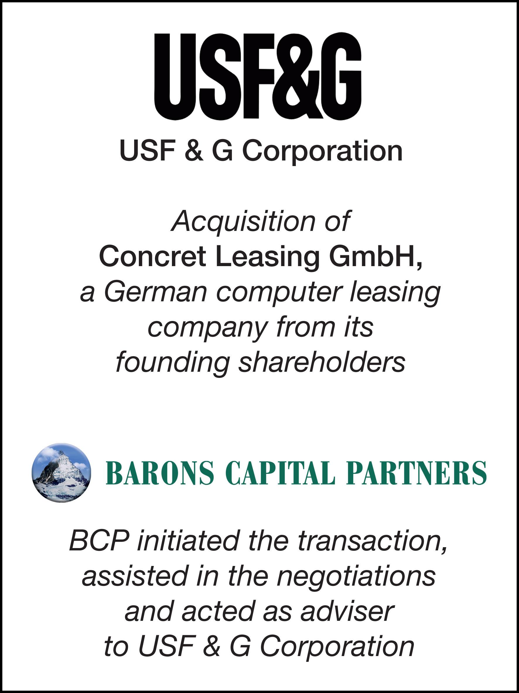 37_USF & G Corp