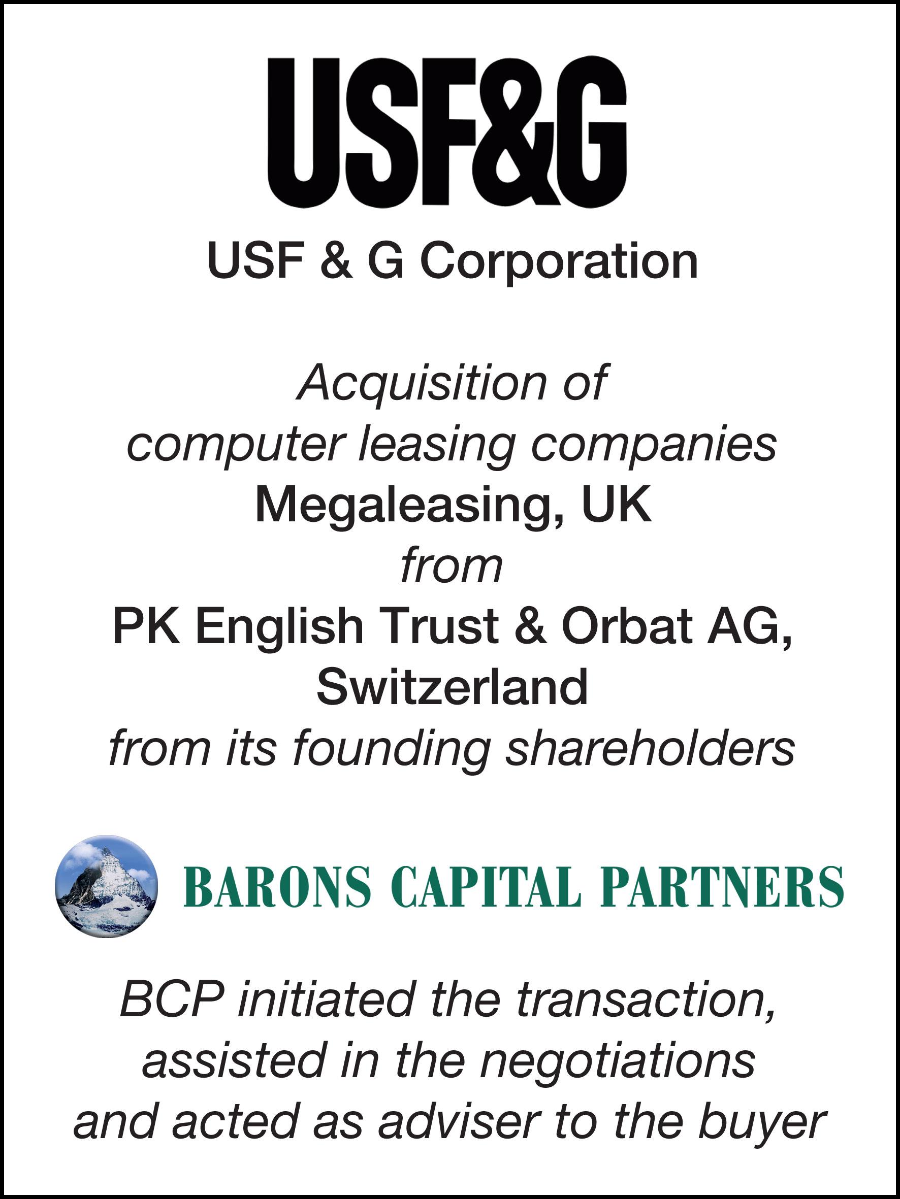 33_USF & G Corp