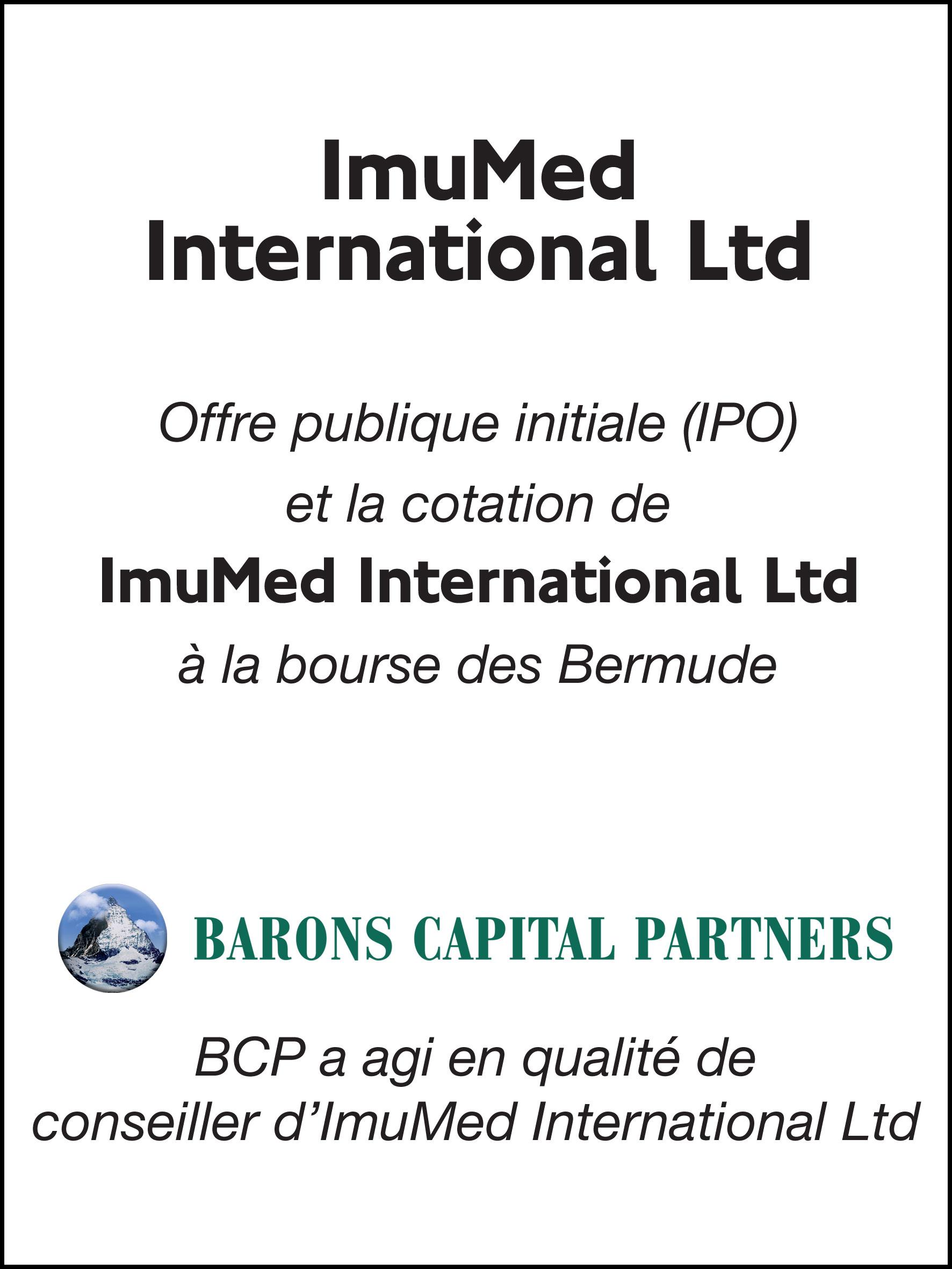 41_ImuMed International Ltd_F