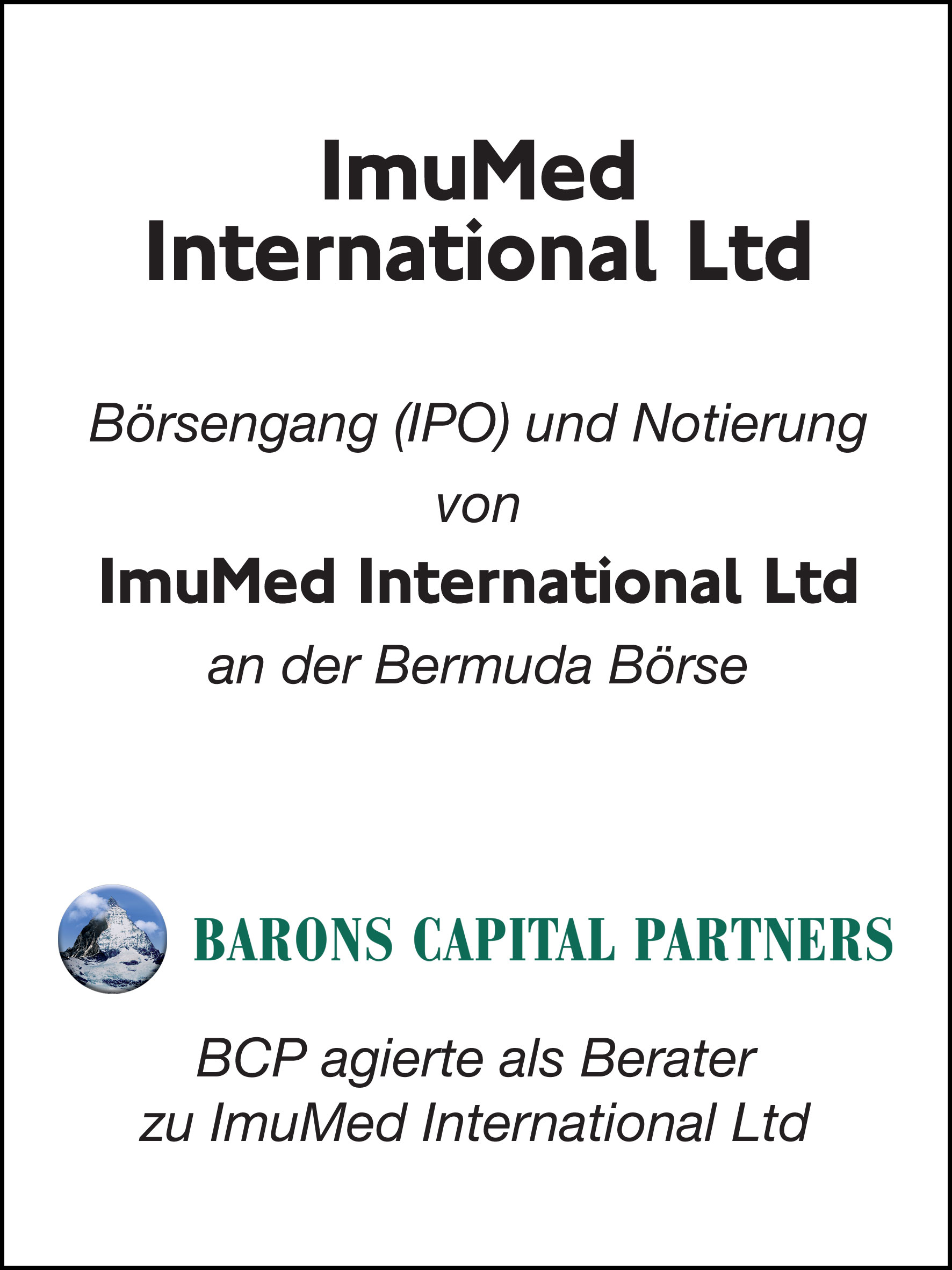 41_ImuMed International Ltd_G