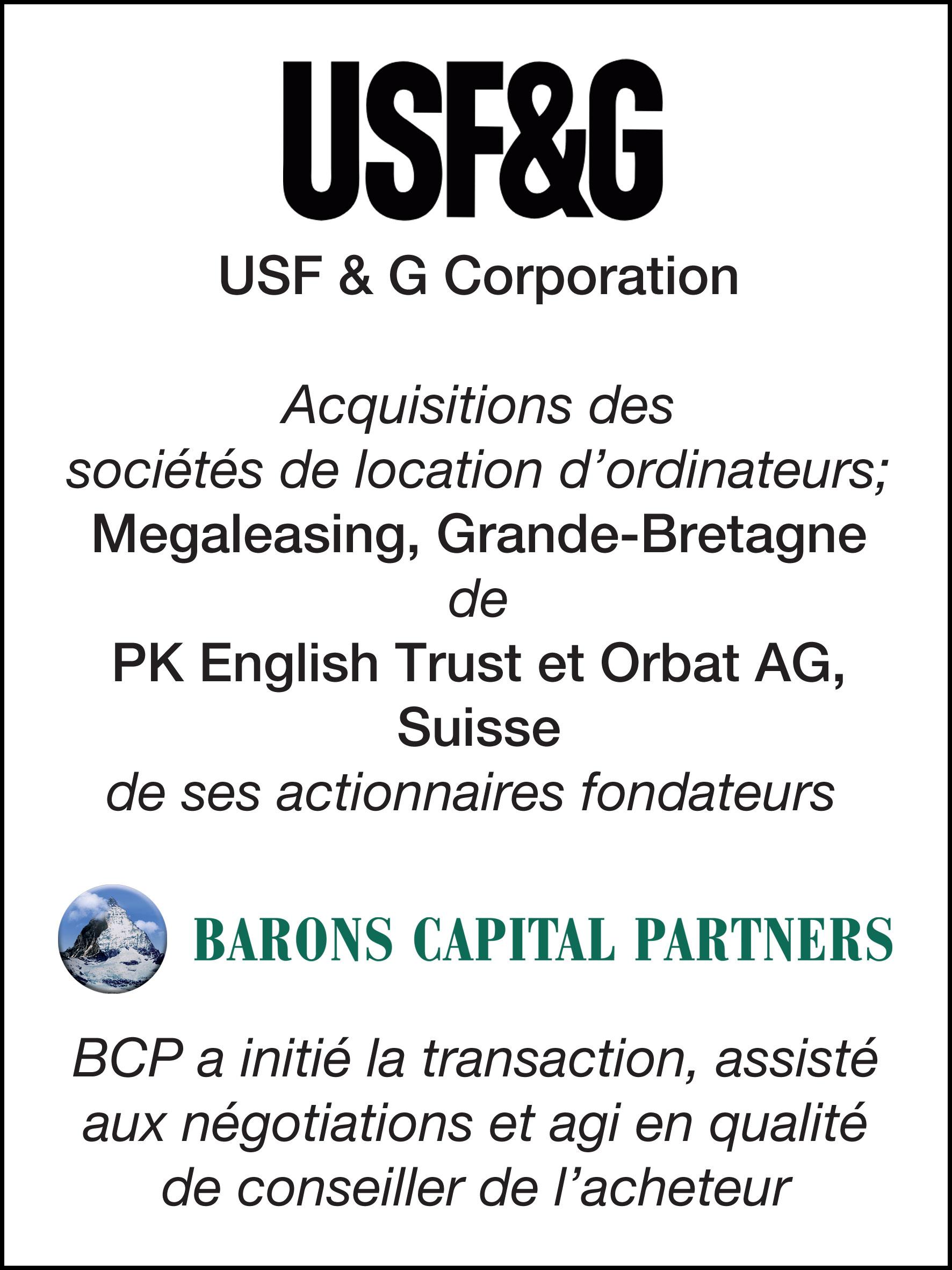 33_USF & G Corp_F