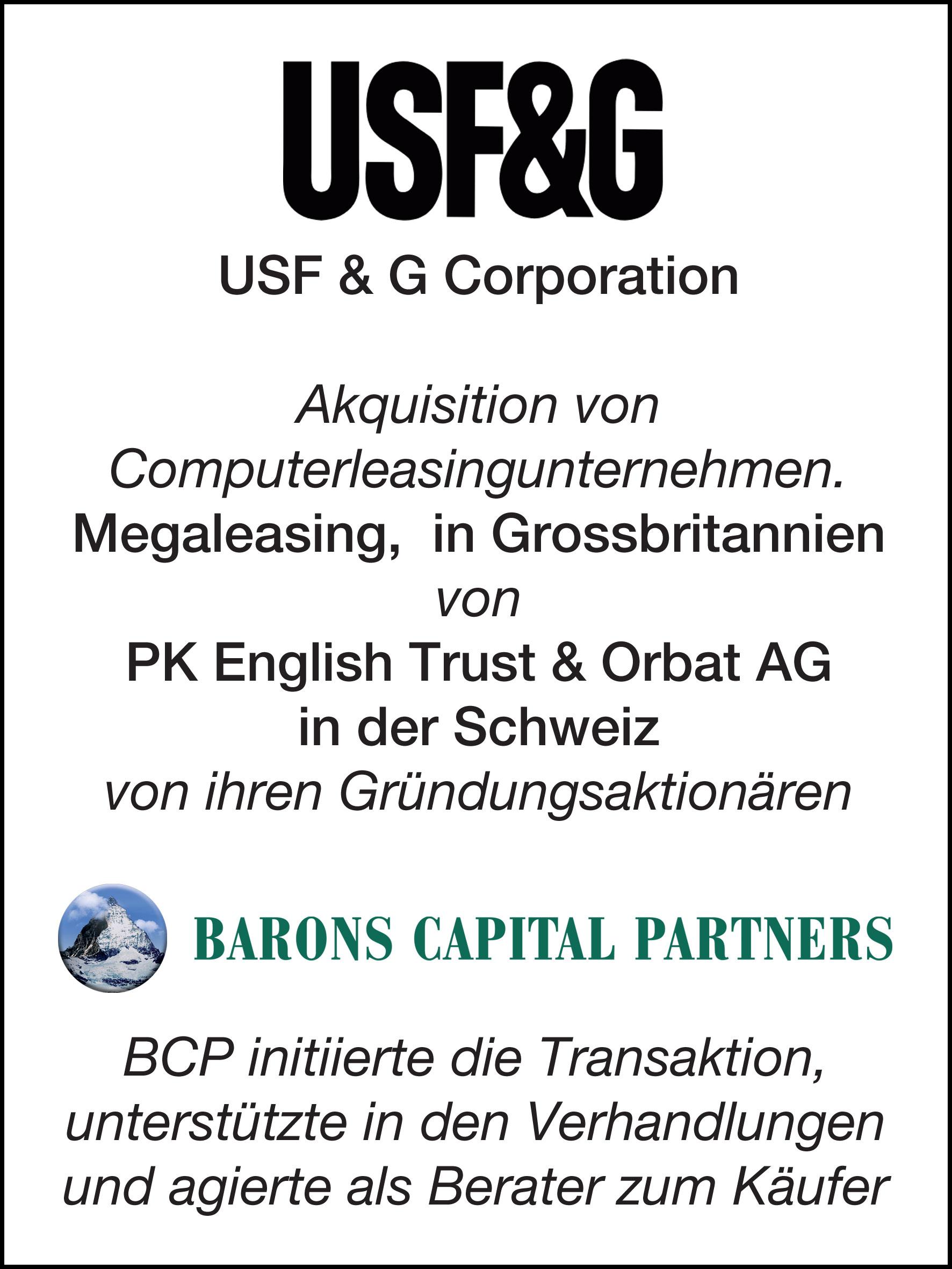33_USF & G Corp_G