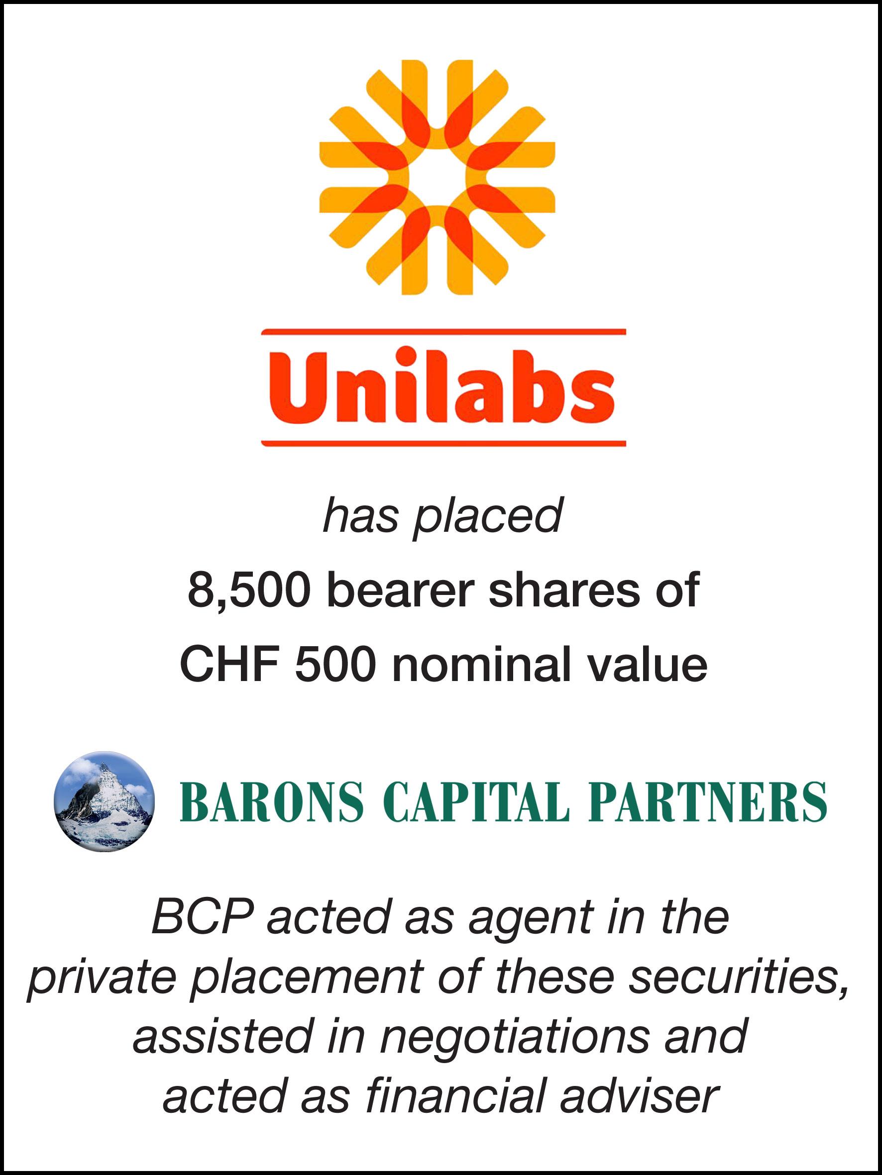 35_Unilabs Holdings SA